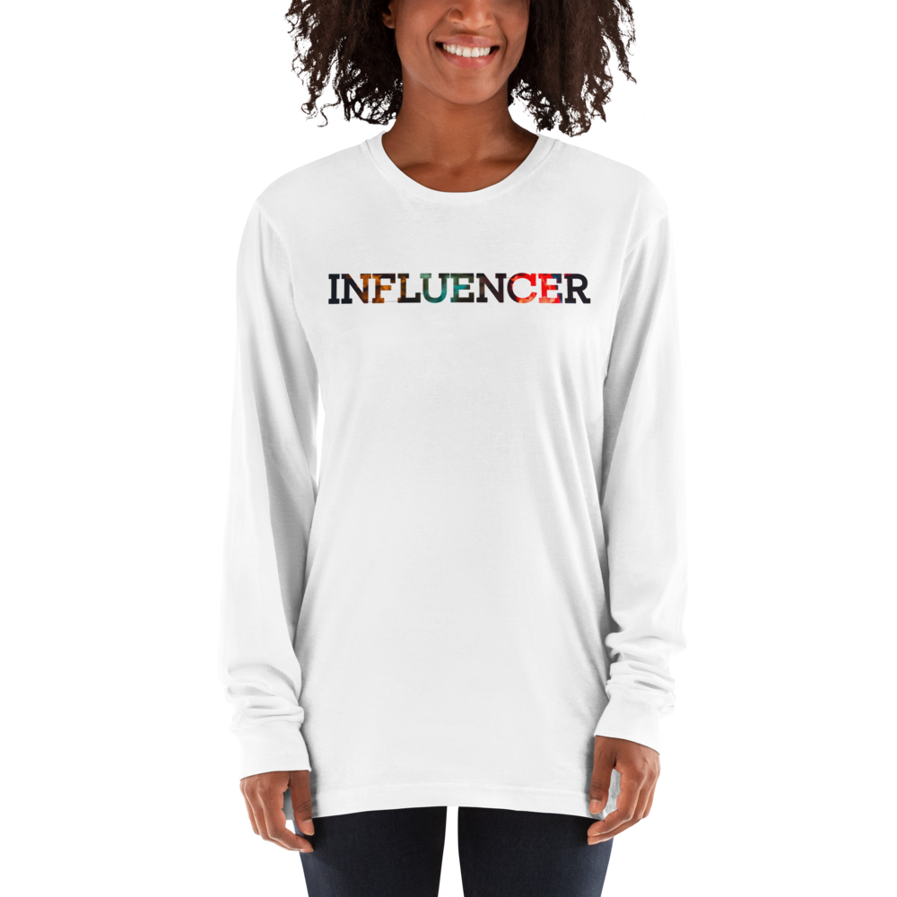 Influencer64 American Apparel 2007 Unisex Fine Jersey Long Sleeve T-Shirt Comfy style