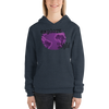 Explore The World0029 Bella + Canvas 3719 Unisex Fleece Pullover Hoodie