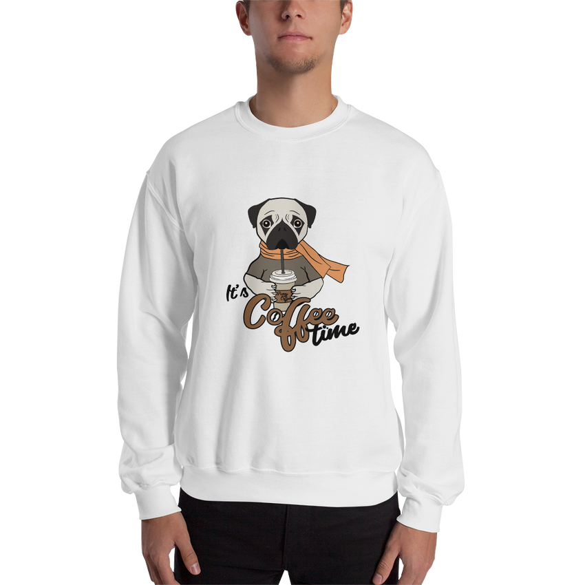 It's Coffee Time031 Gildan 18000 Unisex Heavy Blend Crewneck Sweatshirt