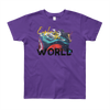 Explore The World0019 American Apparel 2201W Youth Fine Jersey Short Sleeve T-Shirt