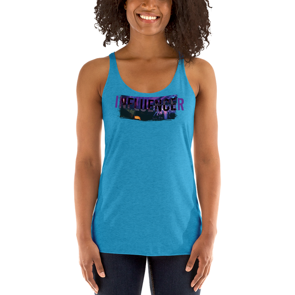 Influencer080 Next Level 6733 Ladies' Triblend Racerback Tank Triblend Racerback Tank