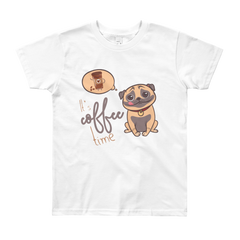 Its Coffee Time38 Youth Short Sleeve T-Shirt