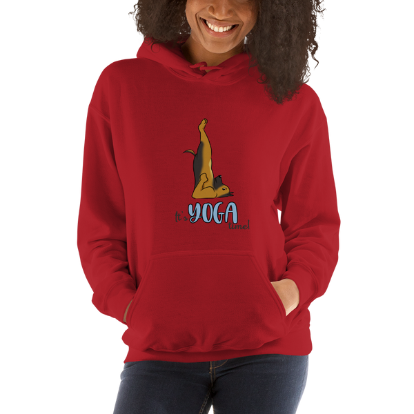 It's Yoga Time021 Gildan 18500 Unisex Heavy Blend Hooded Sweatshirt Heavy blend