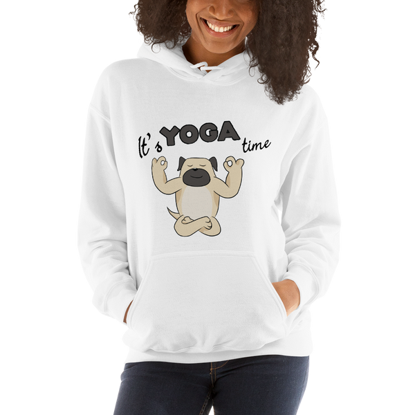 It's Yoga Time025 Gildan 18500 Unisex Heavy Blend Hooded Sweatshirt Heavy blend