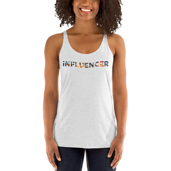 Influencer054 Next Level 6733 Ladies' Triblend Racerback Tank Triblend Racerback Tank
