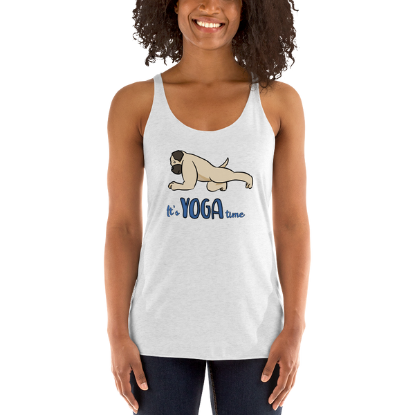 It's yoga time Women Tank Tops