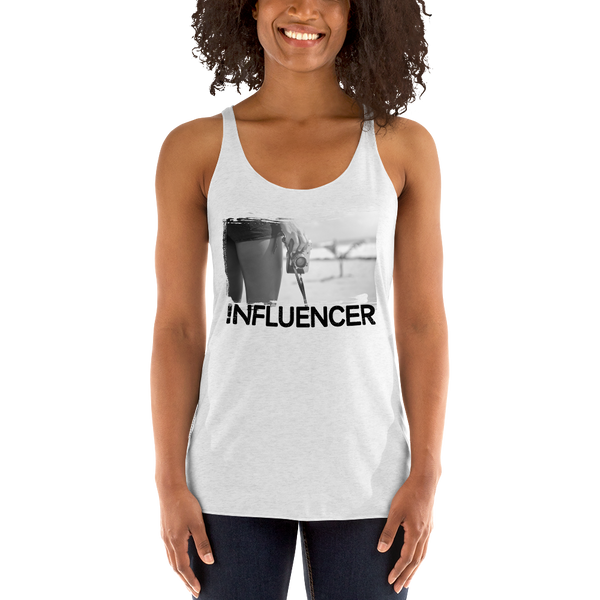 Influencer062 Next Level 6733 Ladies' Triblend Racerback Tank Triblend Racerback Tank