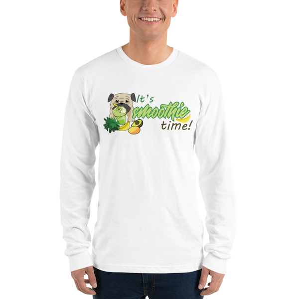 It's smoothie time10 Gildan 2400 Ultra Cotton Long Sleeve T-Shirt