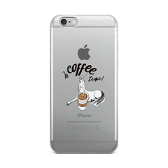 Its Coffee Time66 iPhone Case