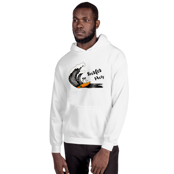 It's Surfing Time03 Gildan 18500 Unisex Heavy Blend Hooded Sweatshirt