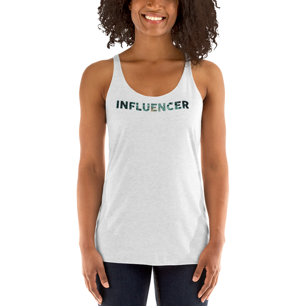 Influencer078 Next Level 6733 Ladies' Triblend Racerback Tank Triblend Racerback Tank