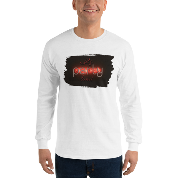 Its Party time11 Gildan 2400 Ultra Cotton Long Sleeve T-Shirt