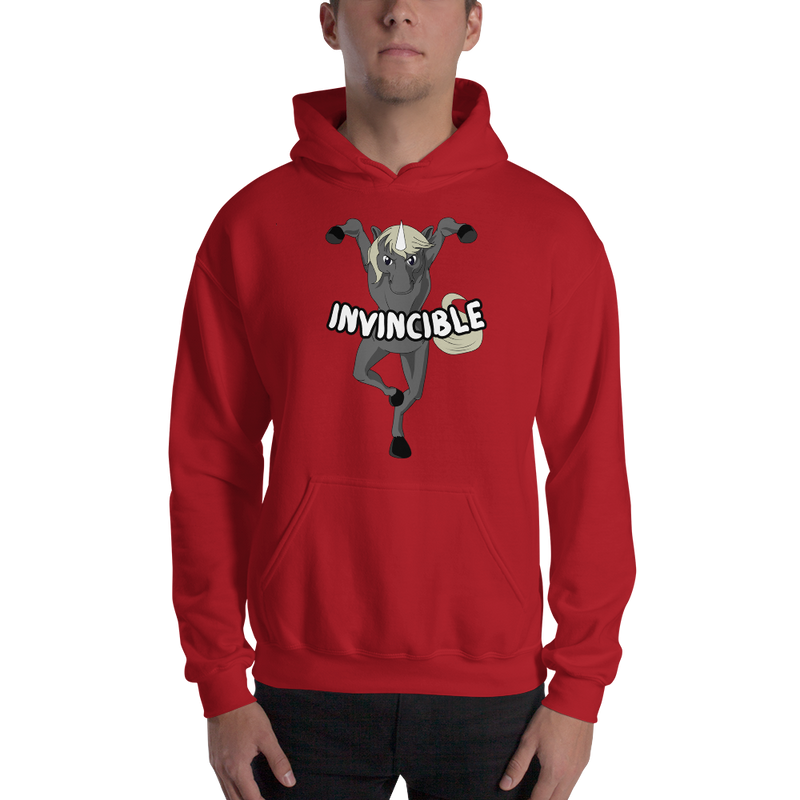 Invincible009 Gildan 18500 Unisex Heavy Blend Hooded Sweatshirt