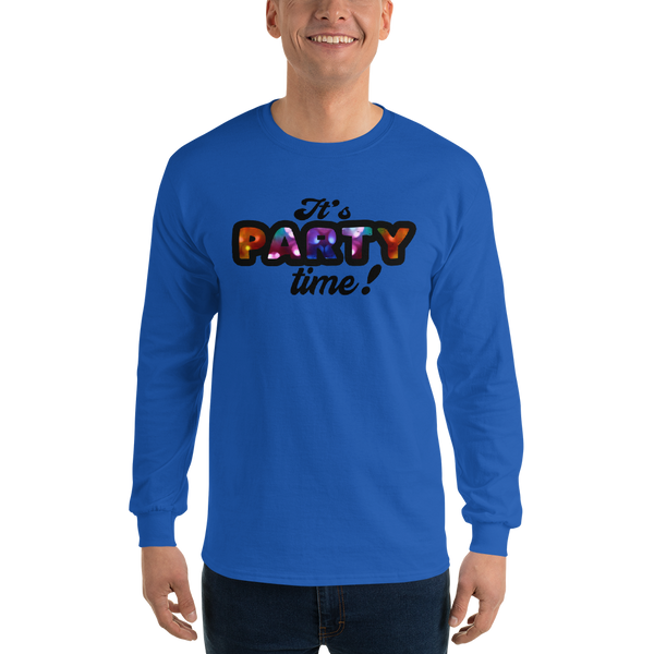 Its Party time08 Gildan 2400 Ultra Cotton Long Sleeve T-Shirt