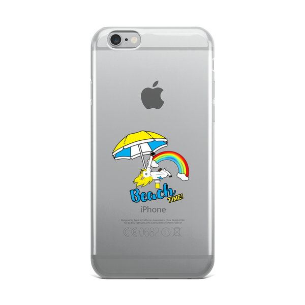 Its Beach Time02 iPhone Case