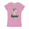 Go Organic002 Next Level 3710 Girl's The Princess Tee with Tear Away Label
