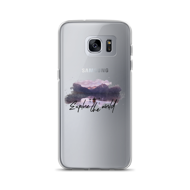 Explore The World002 Samsung Case
