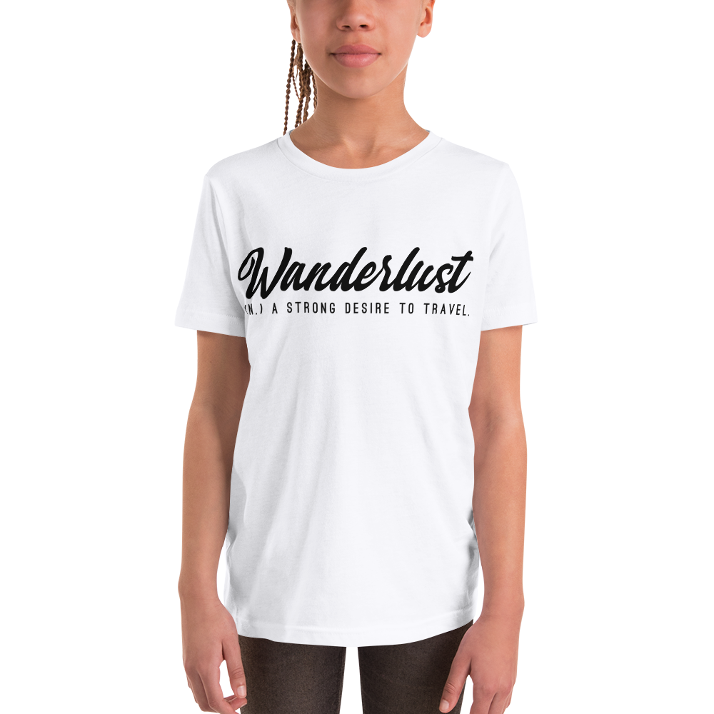 Wanderlust111 Youth Short Sleeve T-Shirt