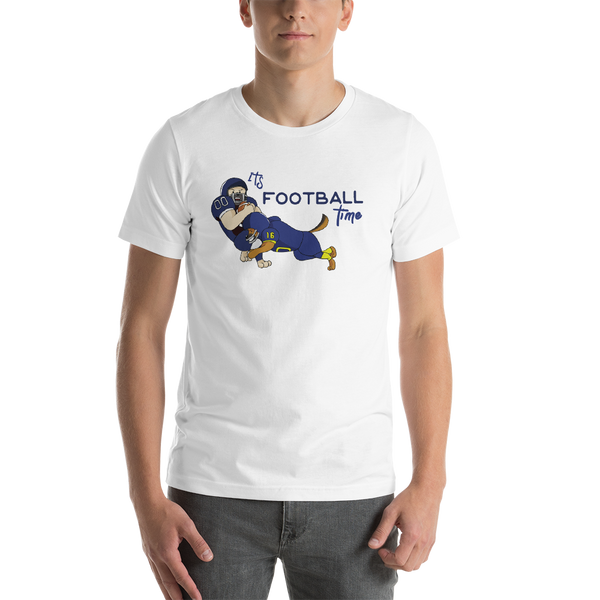 It's Football Time13 Bella + canvas 3001 unisex  Jersey Style