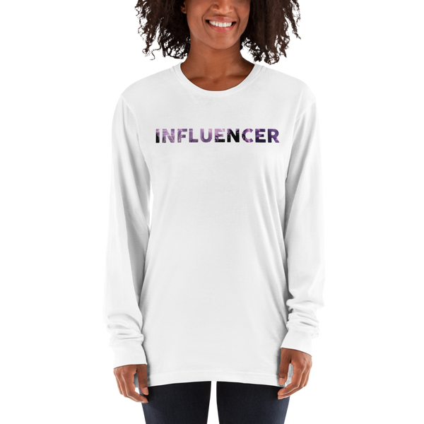 Influencer57 American Apparel 2007 Unisex Fine Jersey Long Sleeve T-Shirt Comfy style