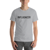 Influencer00175 Bella + Canvas 3001 Unisex Short Sleeve Jersey T-Shirt with Tear Away Label