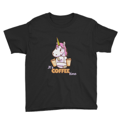Its Coffee Time51 Youth Short Sleeve T-Shirt