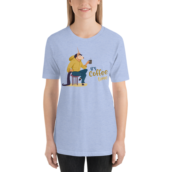 Its Coffee Time062 Short-Sleeve Unisex T-Shirt