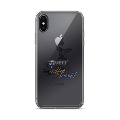 Its Coffee Time24 iPhone Case