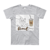 It's Break Time004 American Apparel 2201W Youth Fine Jersey Short Sleeve T-Shirt
