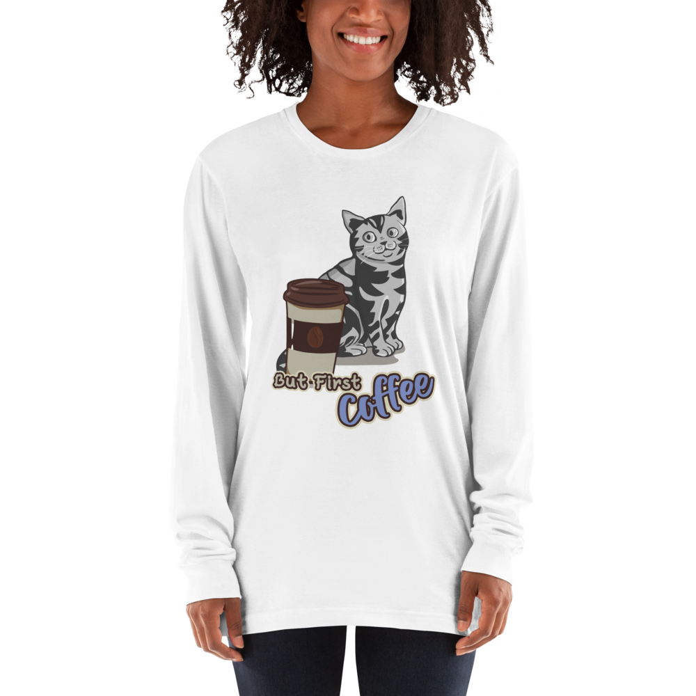 Its Coffee Time047 Long sleeve t-shirt