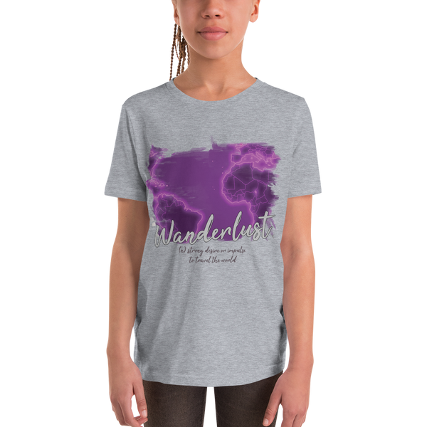 Wanderlust115 Youth Short Sleeve T-Shirt