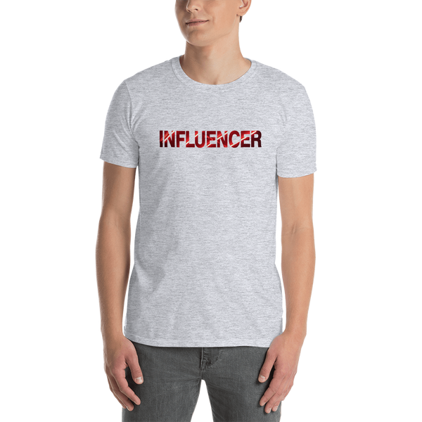Influencer0144 Gildan 64000 Unisex Softstyle T-Shirt with Tear Away Label