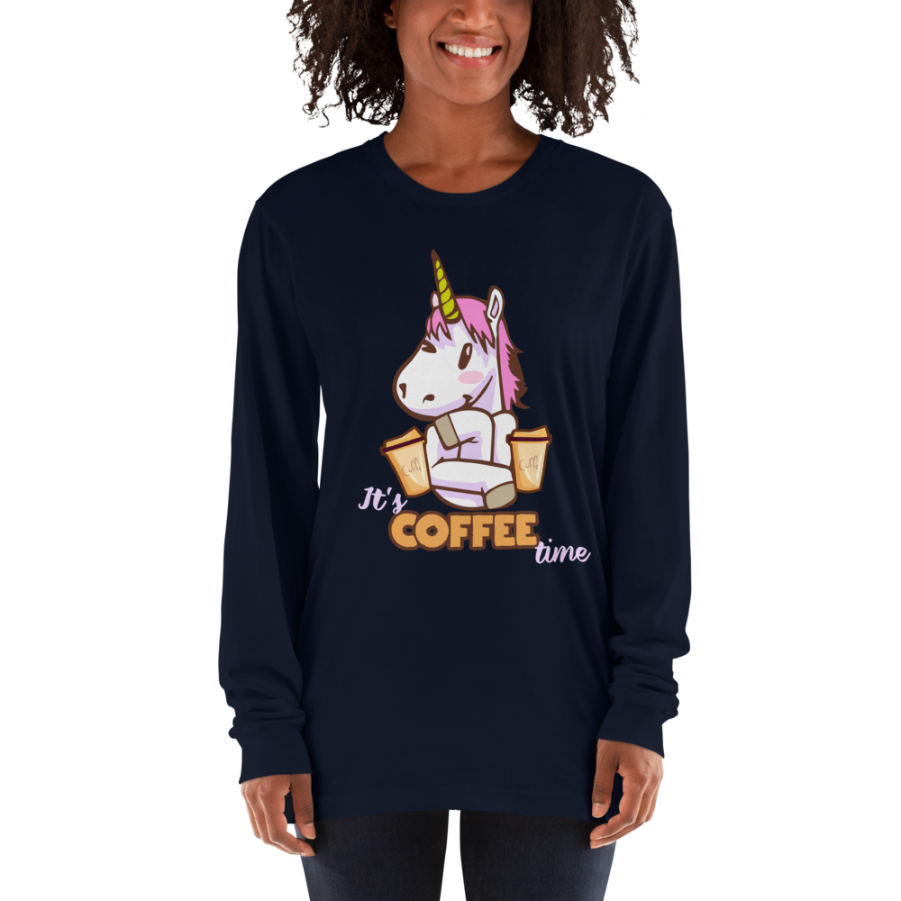 Its Coffee Time051 Long sleeve t-shirt