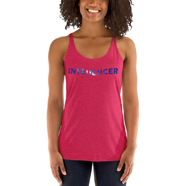 Influencer059 Next Level 6733 Ladies' Triblend Racerback Tank Triblend Racerback Tank