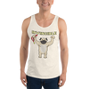 Invincible008 Bella + Canvas 3480 Unisex Jersey Tank with Tear Away Label