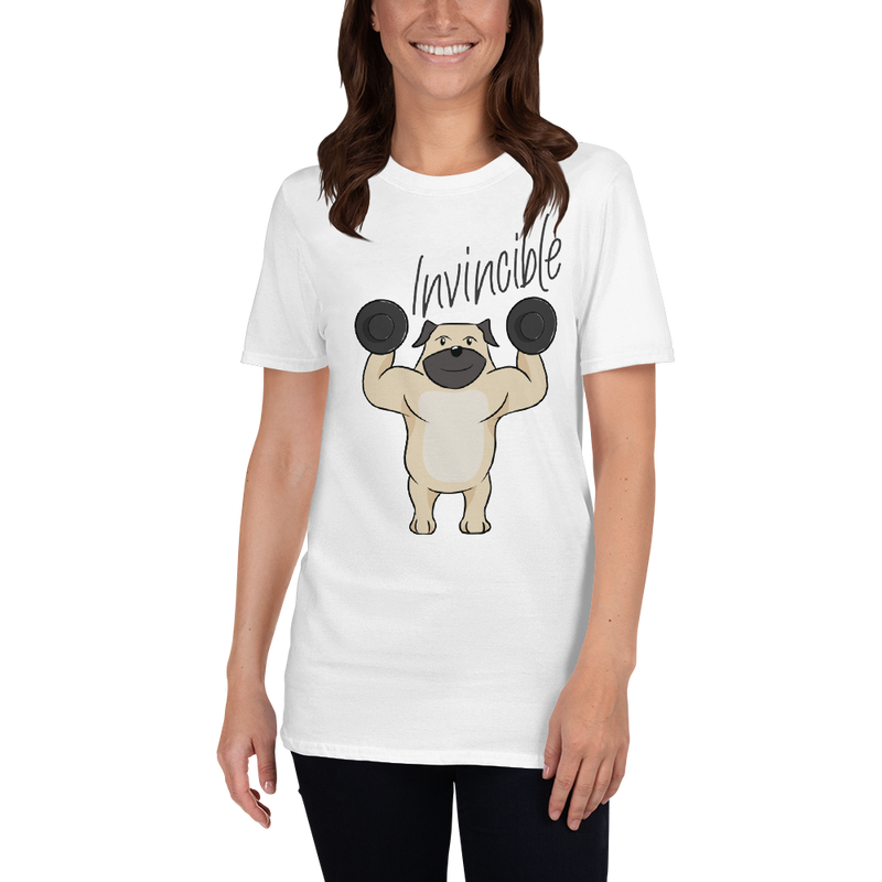 Invincible005 Gildan 64000 Unisex Softstyle T-Shirt with Tear Away Label