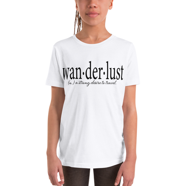 Wanderlust106 Youth Short Sleeve T-Shirt