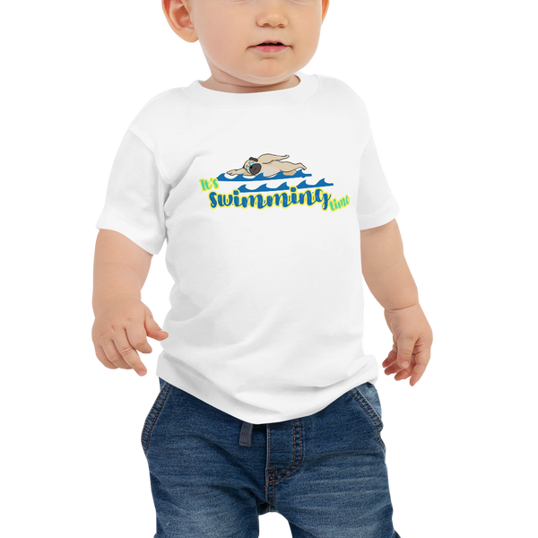 It's Swimming Time02 Baby Jersey Short Sleeve Tee