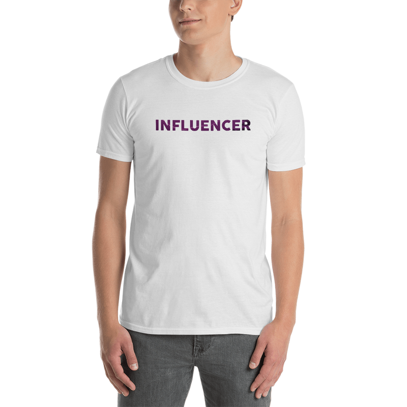 Influencer0079 Gildan 64000 Unisex Softstyle T-Shirt with Tear Away Label