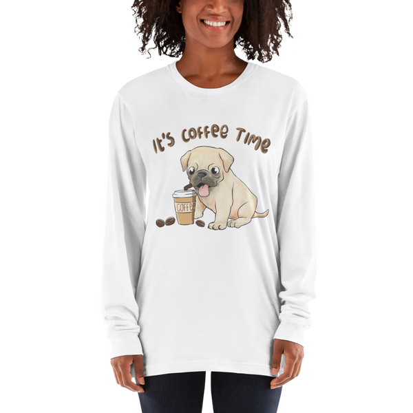 Its Coffee Time053 Long sleeve t-shirt