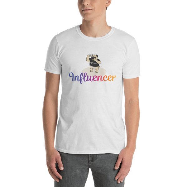 Influencer0126 Gildan 64000 Unisex Softstyle T-Shirt with Tear Away Label