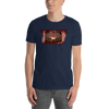Explore The World0014 Gildan 64000 Unisex Softstyle T-Shirt with Tear Away Label - libitalux