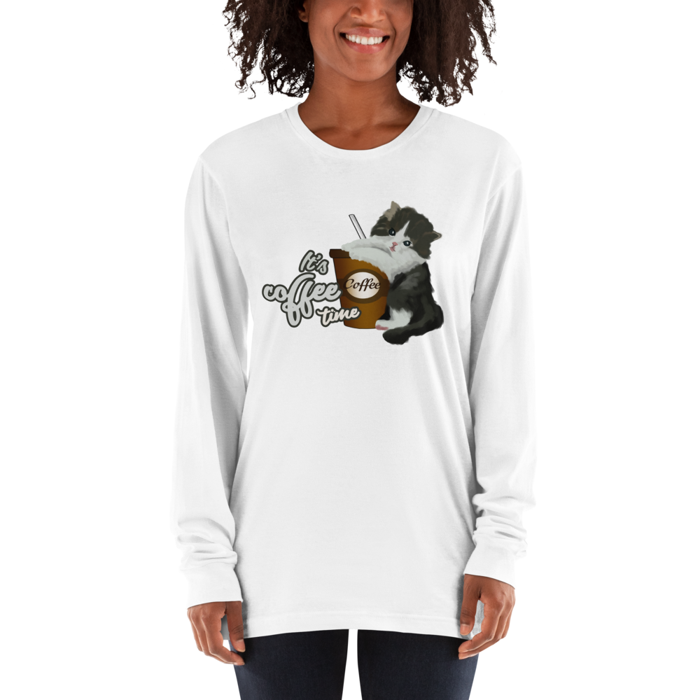 Its Coffee Time021 Long sleeve t-shirt