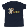 Go Organic005 Bella + Canvas 3001Y Youth Short Sleeve Tee with Tear Away Label