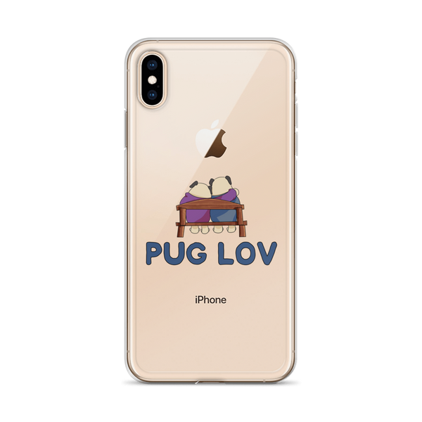 Pug love12 iPhone Case