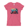 Explore The World0019 Next Level 3710 Girl's The Princess Tee with Tear Away Label