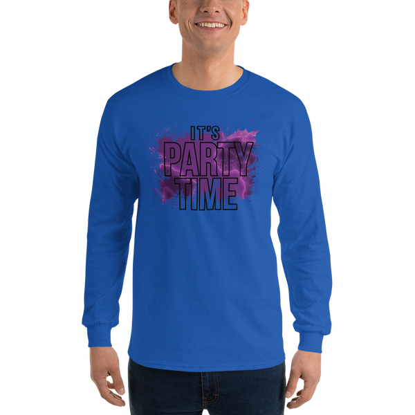 Its Party time07 Gildan 2400 Ultra Cotton Long Sleeve T-Shirt