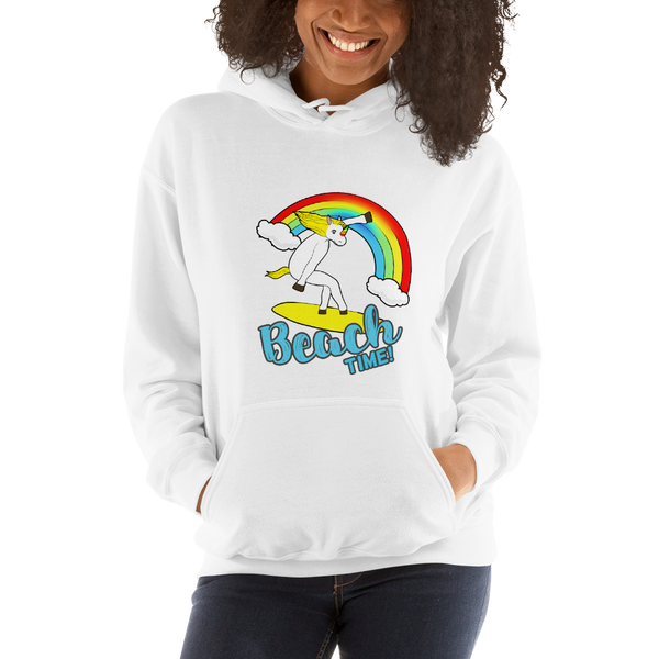 It's Beach time! Women Hoodies