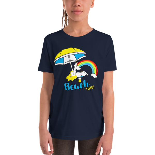 It's Beach Time02 Youth Short Sleeve T-Shirt