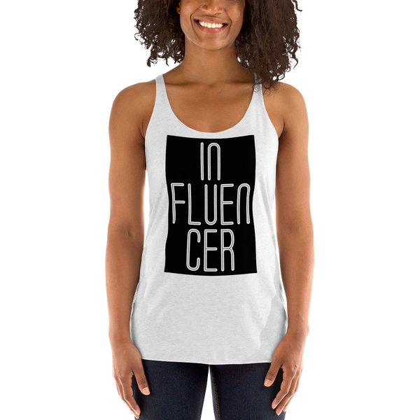 Influencer056 Next Level 6733 Ladies' Triblend Racerback Tank Triblend Racerback Tank